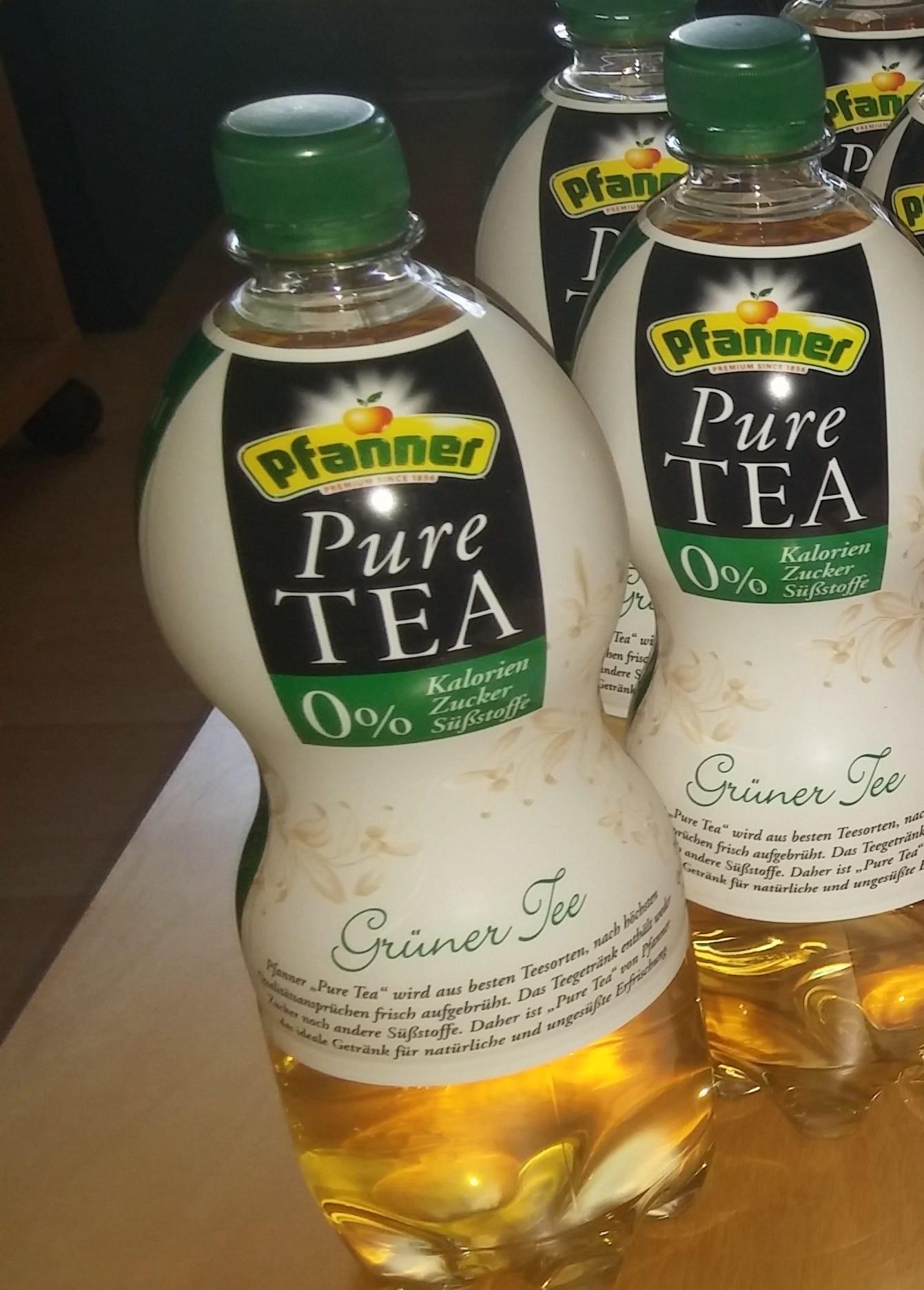 Testbericht] Pfanner Pure Tea – Grüner Tee und Früchte Tee im Test ...