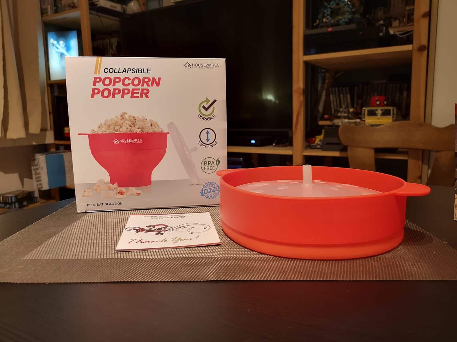 Popcorn Popper - Das ist mit dabei.