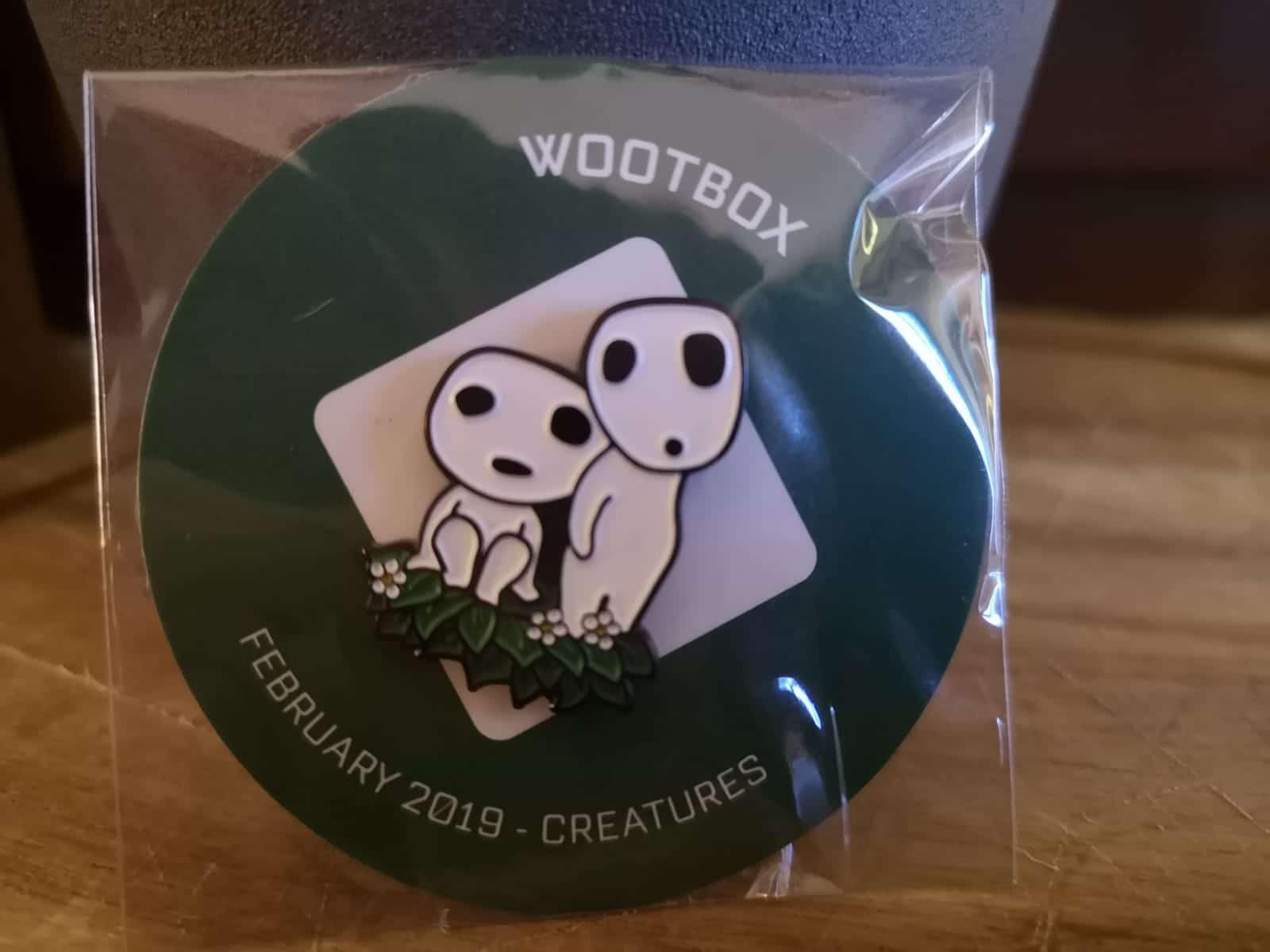 Wootbox Pin