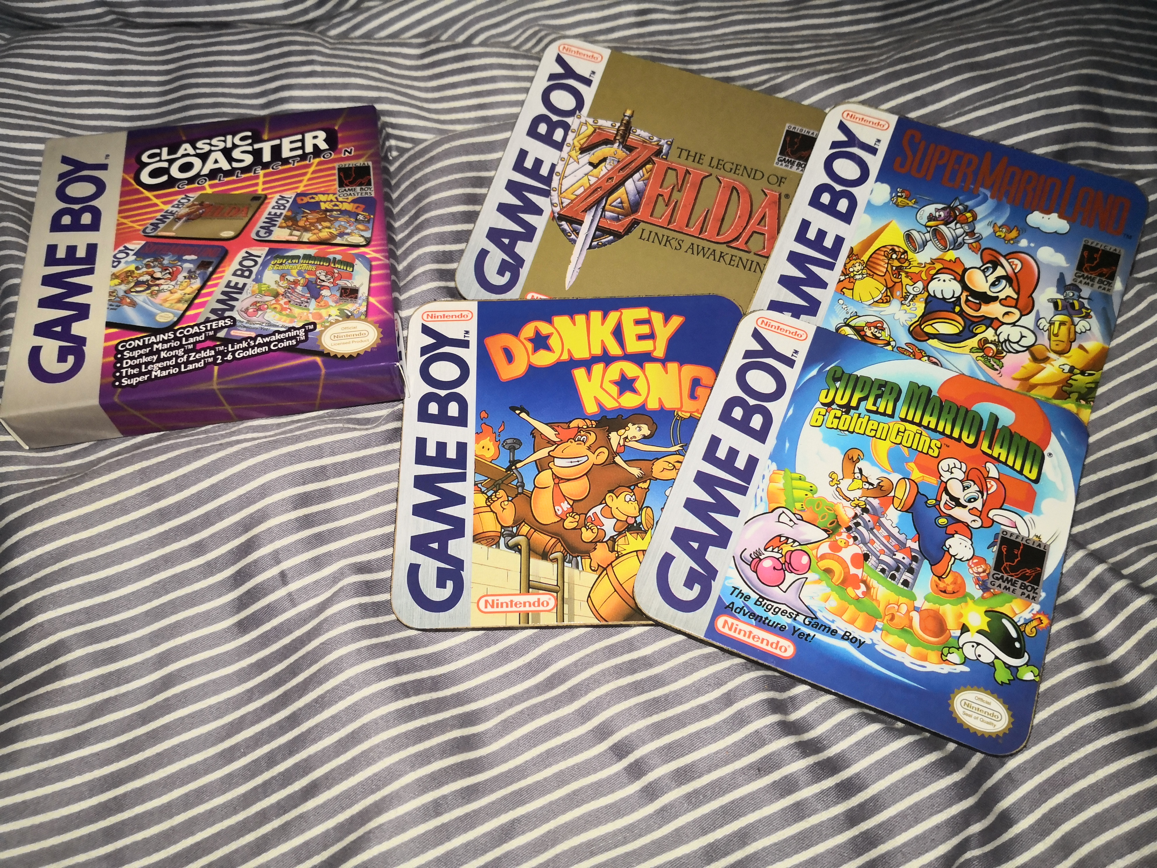 Gameboy Classic Coaters